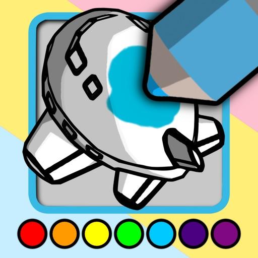 My 3D Coloring Book iOS App