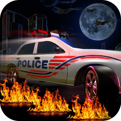 Crazy Police Pursuit - Cool arcade speed cop car road racing iOS App