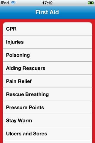 Advanced 1st Aid screenshot 1