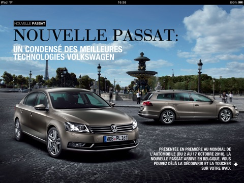 Volkswagen Magazine screenshot 2
