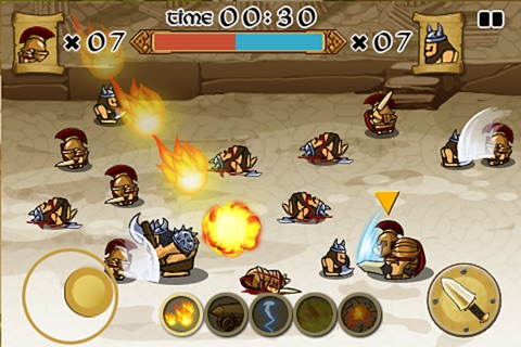 Spartans vs Vikings Screenshot