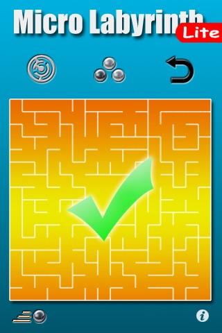 Micro Labyrinth Free screenshot 3