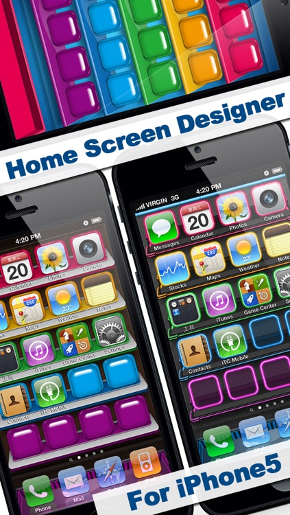 Home Screen Designer Pro   IOS 7 Edition