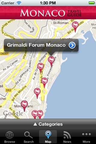 Monaco Travel Guide screenshot 2