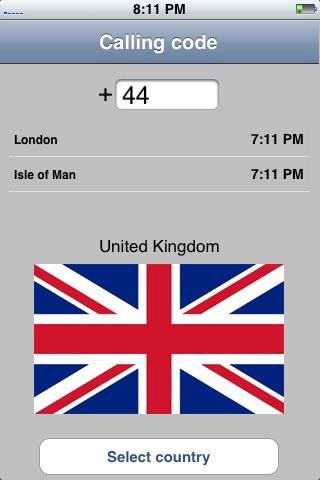 Indicatif Téléphonique screenshot 2