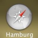 Hamburg Travel Map (Germany) icon