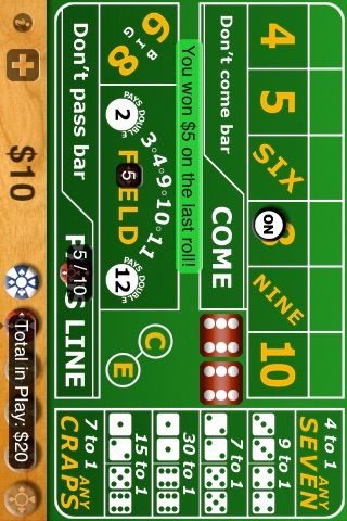 Casino Craps Tutorial screenshot two