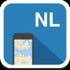 Holanda y Amsterdam mapa offline, guía, clima, hoteles. Libre GPS navegación.
