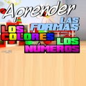 Learn Colors, Numbers, and Shapes for Toddlers (espanol) 3-in-1 icon