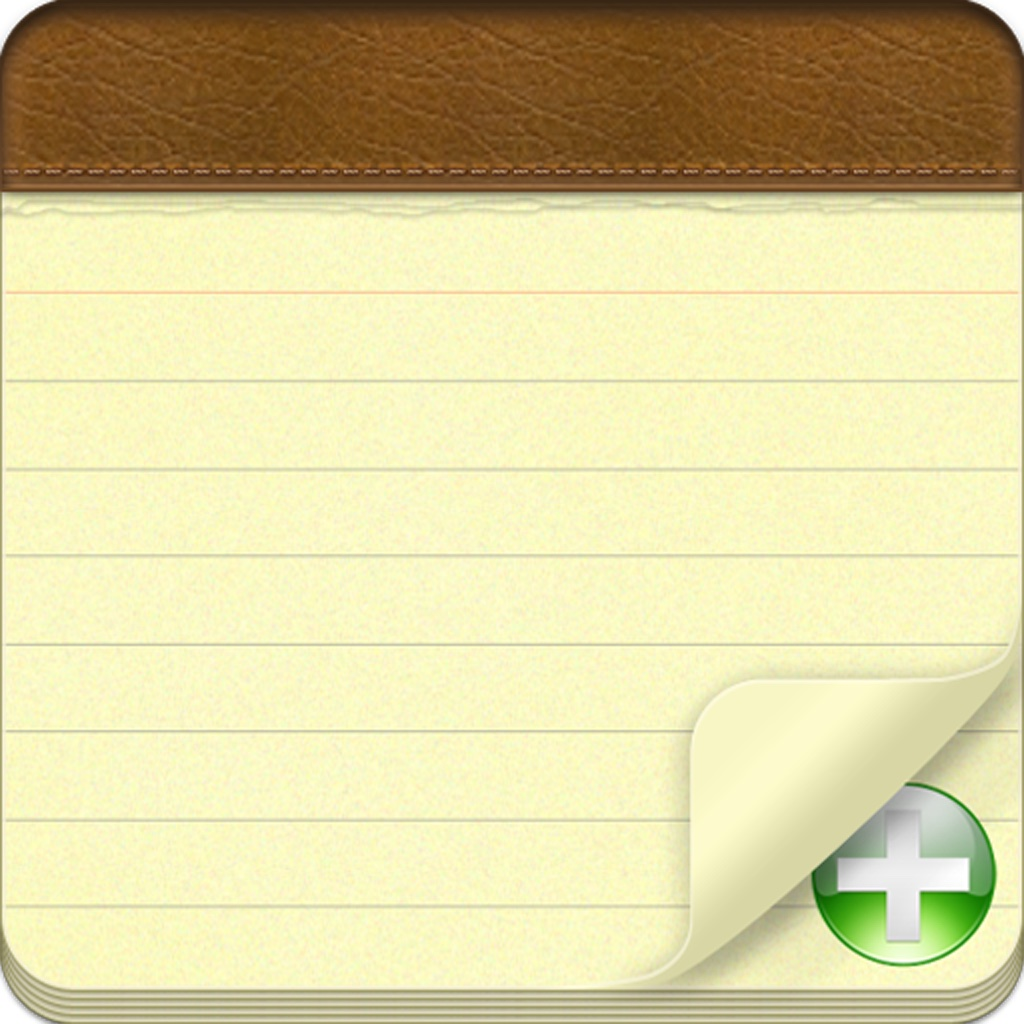 Notepad+ Take Notes & Sync to iCloud, GoogleDocs, Evernote or Email iOS App