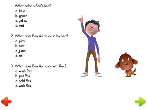 First Grade Reading Program screenshot 4