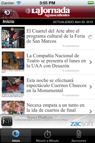 La Jornada Ags. screenshot 2