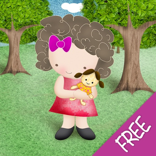Alma and the Doll in the Park - Free iOS App