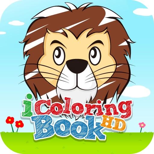 填色画册:iColoringBook HD 3 !!!