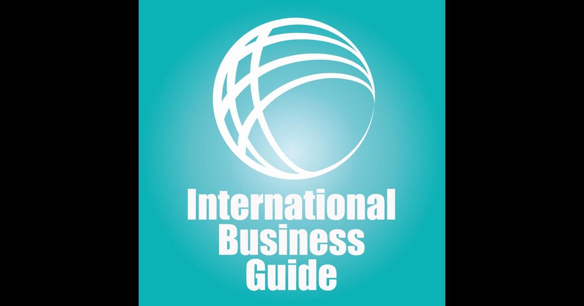 international business guideline