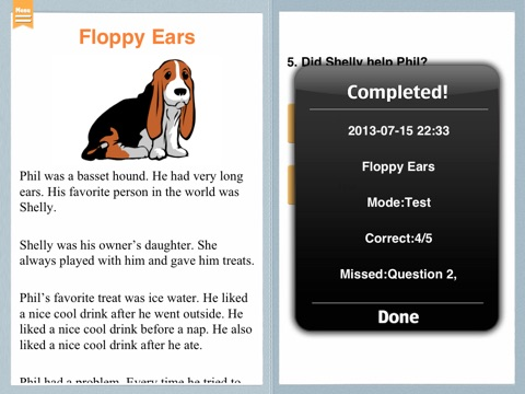 Grade 2 Reading Comprehension screenshot 4