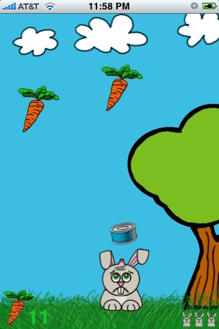 Eat, Bunny, Eat! screenshot 3