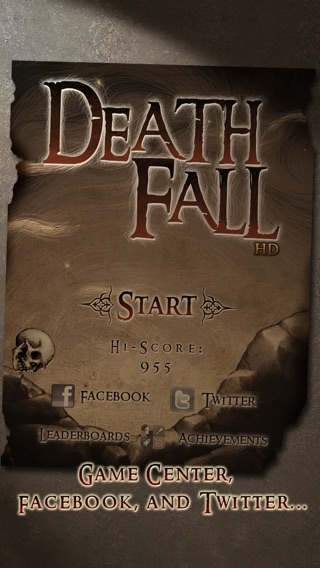 DeathFall HD Screenshot