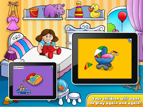 Puzzle Toddler Preschool! screenshot 3