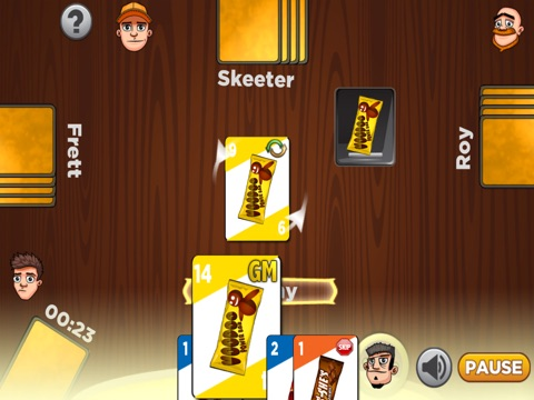 Screenshot #4 for short fill candy card game