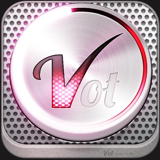 语音备忘录:VOT: Voice To-Dos – Jot with Voice