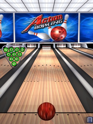 Action Bowling HD screenshot 1