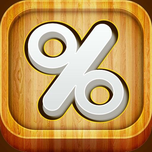 百分率计算器:7 in 1 : Percentage Calculator【计算工具】