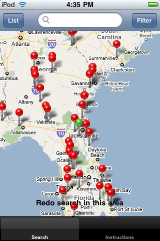 Truck Stop Locator screenshot 1