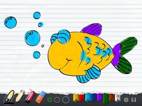 Coloring Book Kids screenshot 2