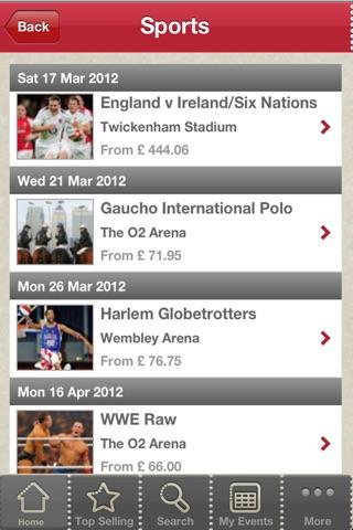 Seatwave Tickets screenshot 3