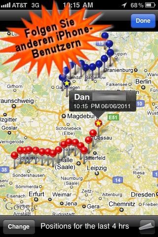 Global Phone Tracker Screenshot