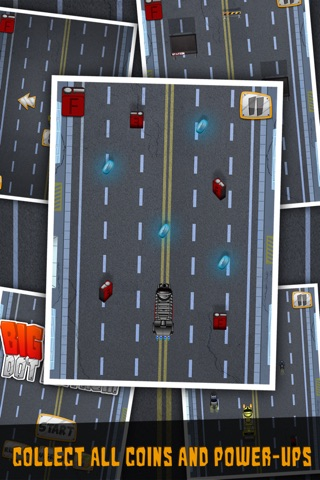 Big Truck Dot Mayhem-Gem City Racing Free by Appgevity LLC screenshot 3