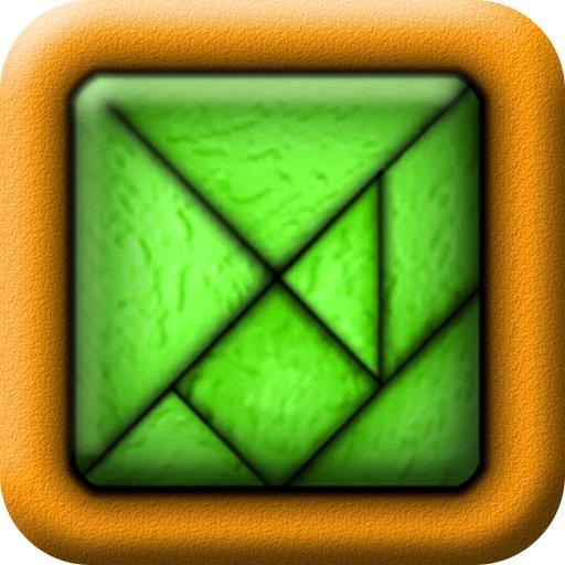 TanZen HD - Relaxing tangram puzzles iOS App