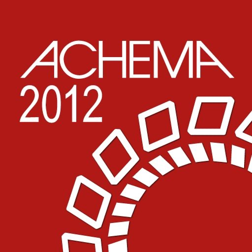 ACHEMA 2012 -  World Exhibition Congress on Chemical Engineering, Environmental Protection and Biotechnology