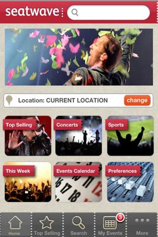 Seatwave Tickets screenshot 1
