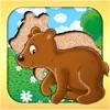 Tierpuzzel für Kleinkinder
