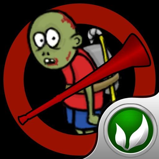 Vuvuzela vs Zombies iOS App