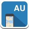Australia mapa offline, guía, clima, hoteles. Libre GPS navegación. icon
