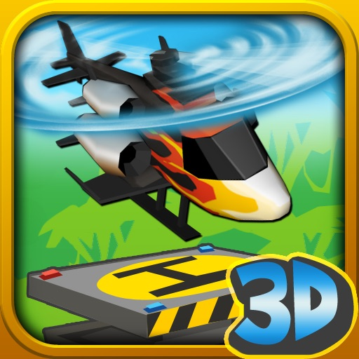 纸质疯狂滑翔直升机 Paper Glider Crazy Copter 3D【3D冒险】