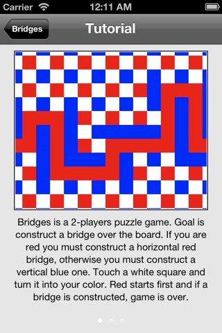 Bridges Game screenshot 2