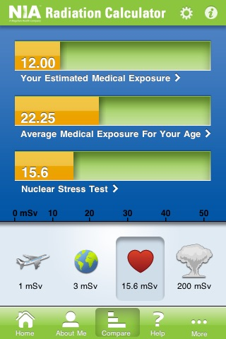 Radiation CalculatorScreenshot of 3