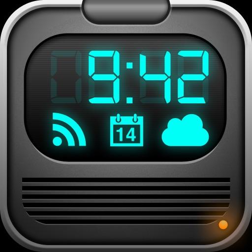 Alarm Clock Rebel – Weather, iPod Music, News, Calendar, World Clocks, Sleep Sound