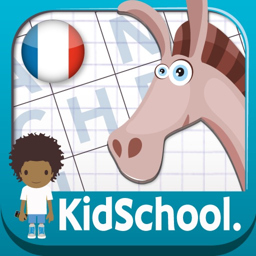 Kidschool : my first criss-cross puzzle in french iOS App