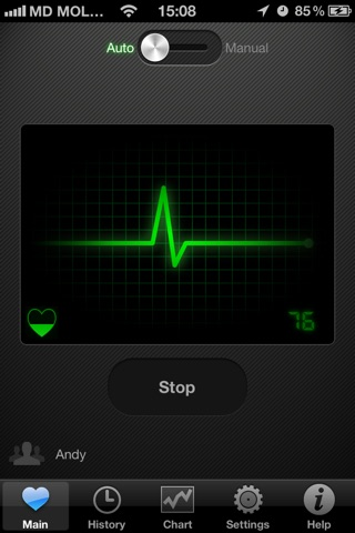 HeartBeat Pro - Heart Rate Monitor screenshot 1
