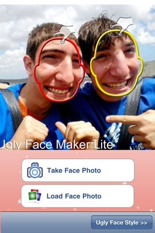 Ugly Face Maker Lite screenshot 2