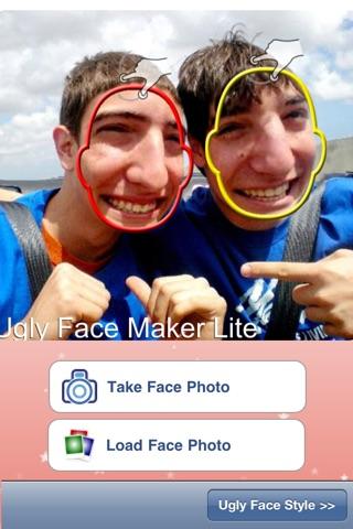 Ugly Face Maker Lite screenshot 2