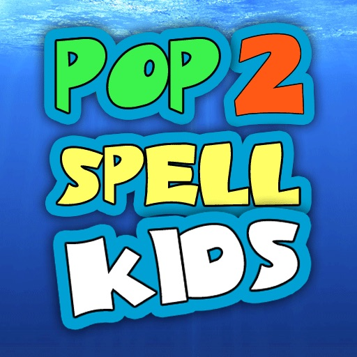 Pop2Spell-Kids iOS App
