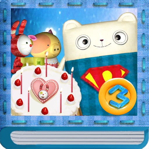 Pilo3:An Interactive Children's Story Book-3D Animation-Cooking Game