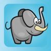 Diversão para crianças - um livro de animais apontando livre e diversão para crianças, crianças e bebês