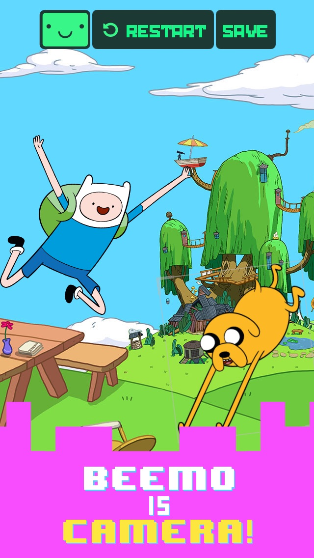 Screenshots of Beemo - Adventure Time for iPhone